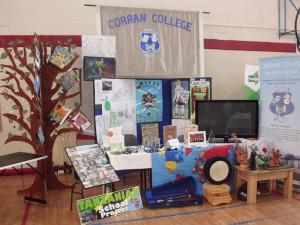 Corran College Enterprise town exhibition
