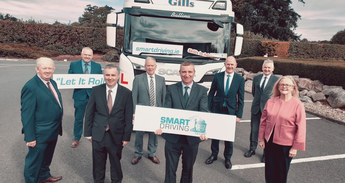 Minister of State Niall Collins TD launches a new innovative Eco Driving programme for professional HGV drivers